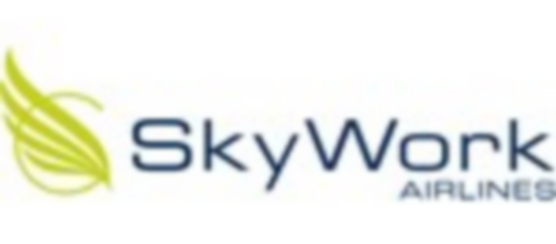 Sky work Airlines logo